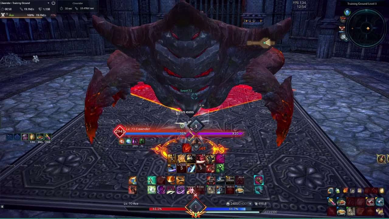 Training Ground Coming To TERA Console 4