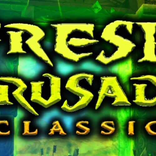 "WoW Classic Fresh Start Initiative ""The Fresh Crusade"" Begins Today With Almost 10000 Players"