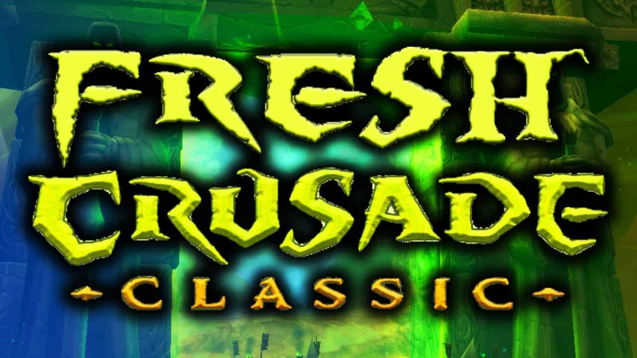 """WoW Classic Fresh Start Initiative """"The Fresh Crusade"""" Begins Today With Almost 10000 Players"""