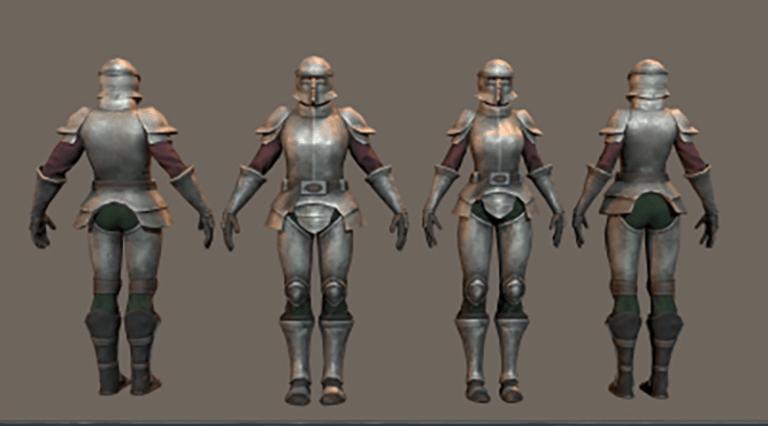 Titan Reach Dev Blog SHows Off Gear, Characters, NPCs, Environments, and More 1