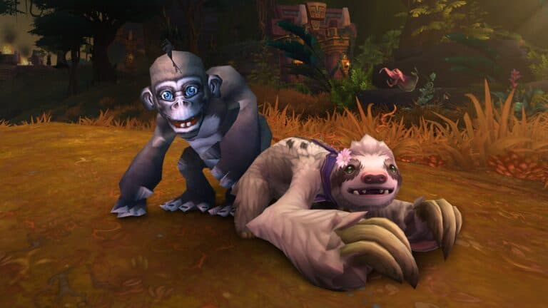 Support Doctors Without Borders With The WoW Charity Pet Program 1