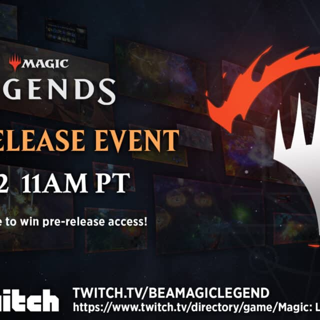 Magic: Legends Pre-Release Event March 22nd - Pre-Load Available Now