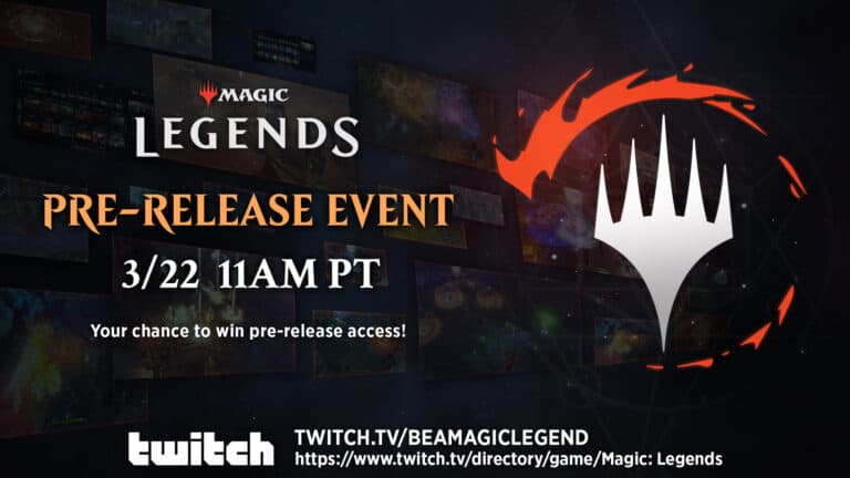 Magic: Legends Pre-Release Event March 22nd - Pre-Load Available Now 1
