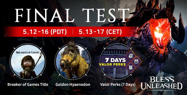 Final PC Beta For Bless Unleashed From May 12th To 16th