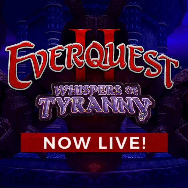 Everquest II Whispers Of Tyranny Is Live