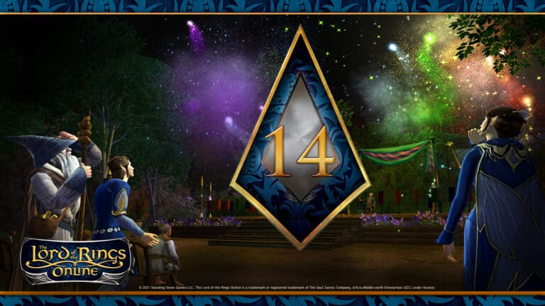 LOTRO Wants You To Find BIlbo + 14 Year Anniversary Event 1
