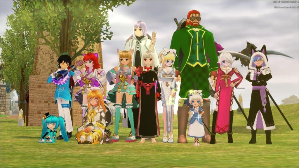 The Best Anime MMORPGs In 2021 7