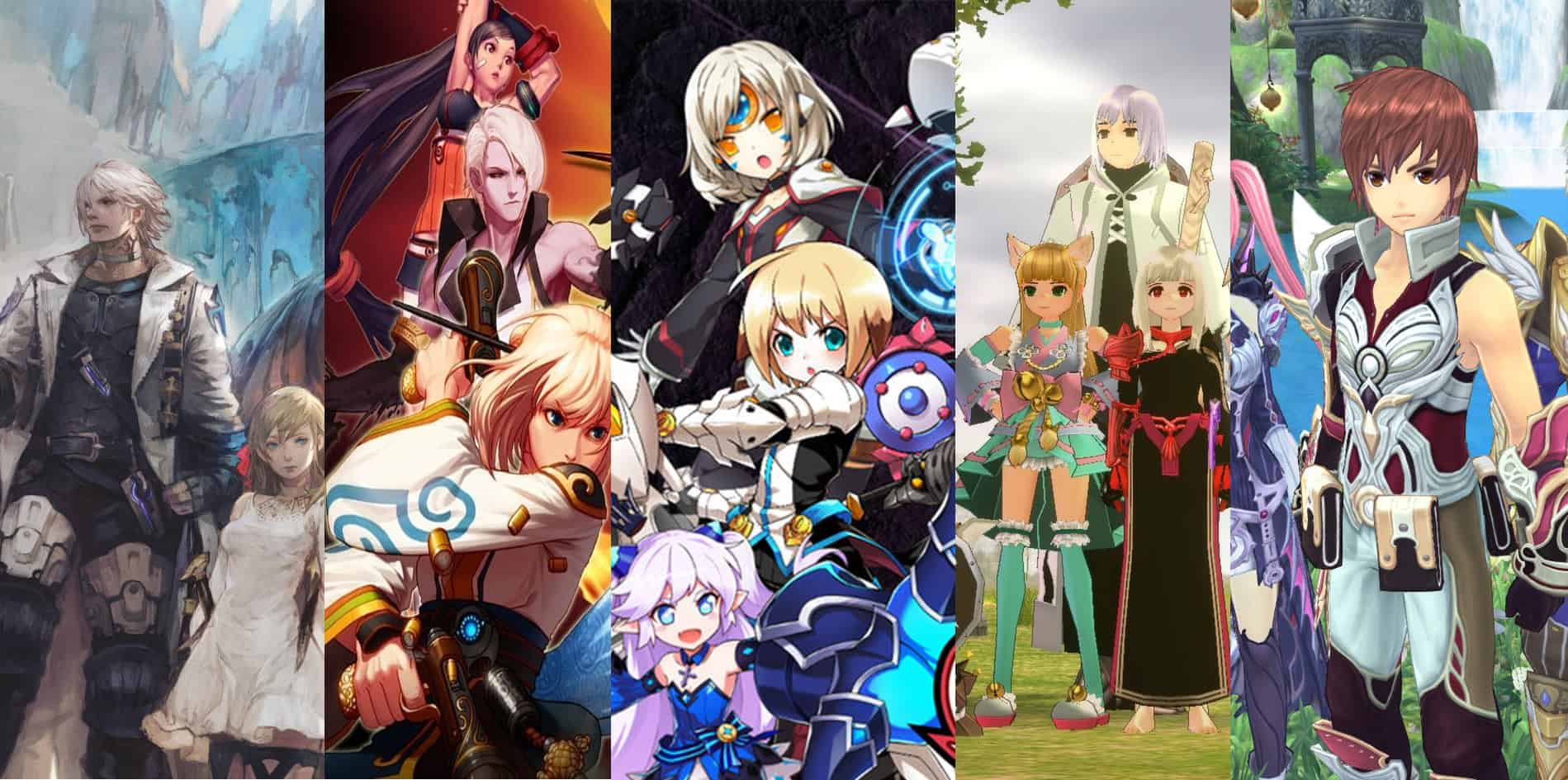 The Best Anime MMORPGs In 2021