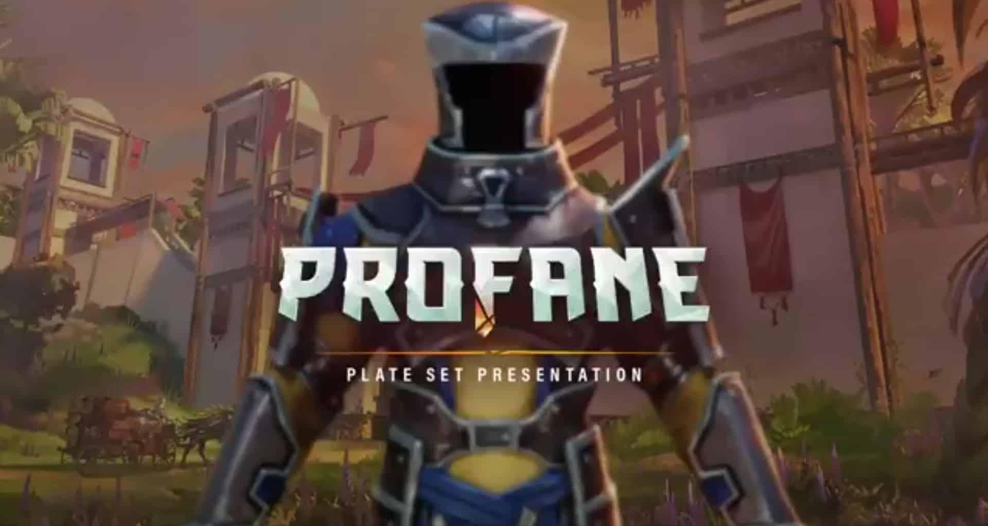 Profane Previews Plate Armor Designs On Twitter 2
