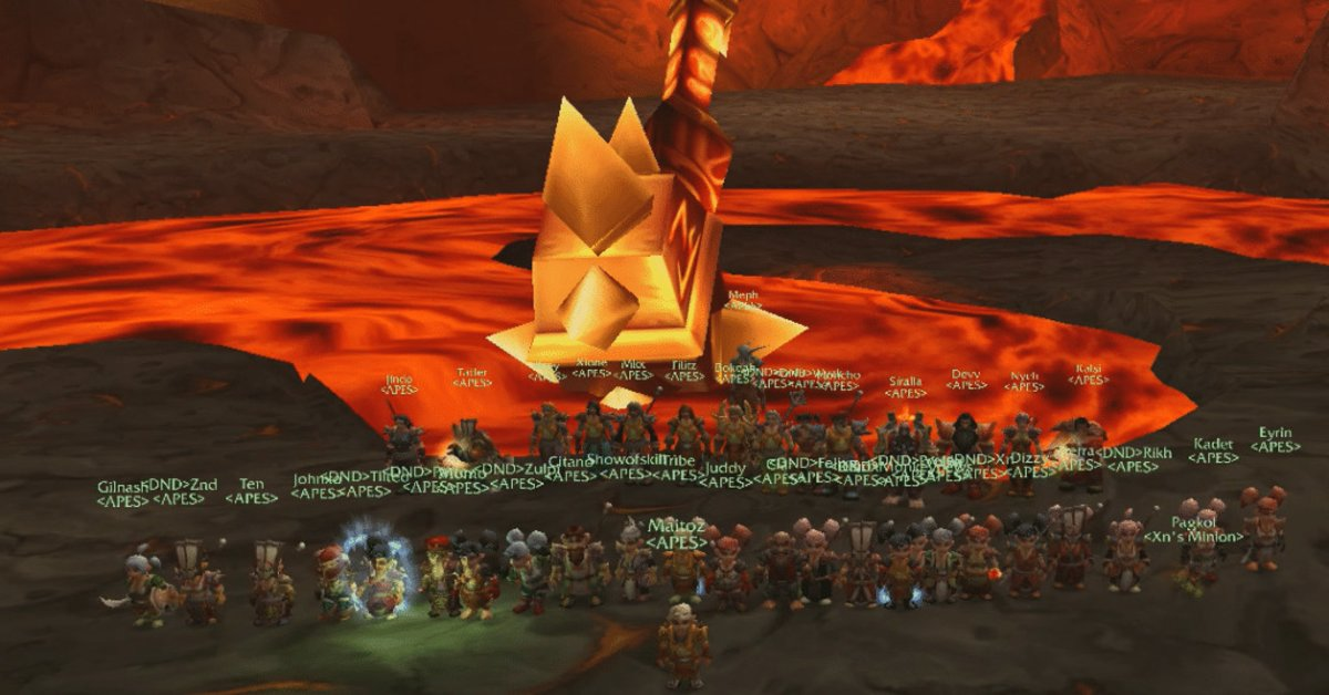 Legendary WoW Guild APES Quits World of Warcraft