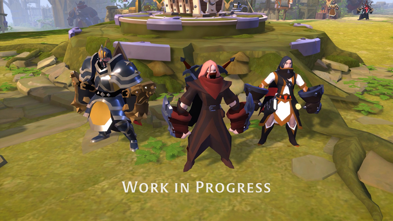 Albion Online Previews War Gloves and HQ Hideouts