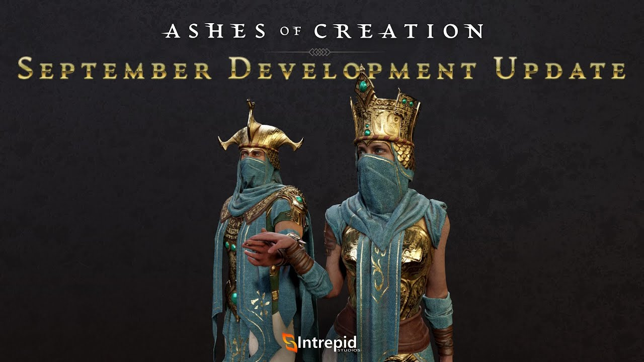 Ashes of Creation September Update Looks at Node Simulation, New Mounts, and Optimizing Performance