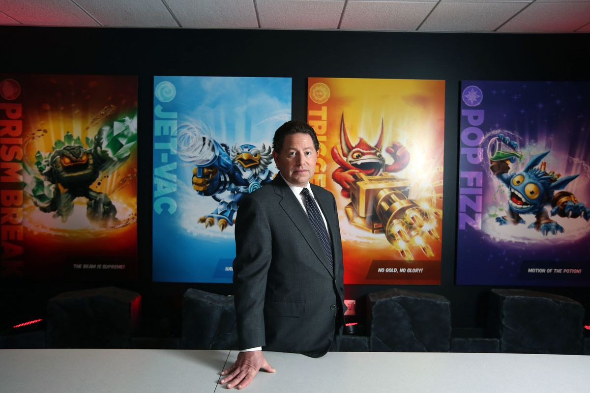 The SEC is Now Investigating Activision Blizzard and Has Subpoenaed CEO Bobby Kotick