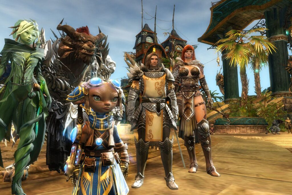 The 11 MMOs With The Best Graphics In 2021 7