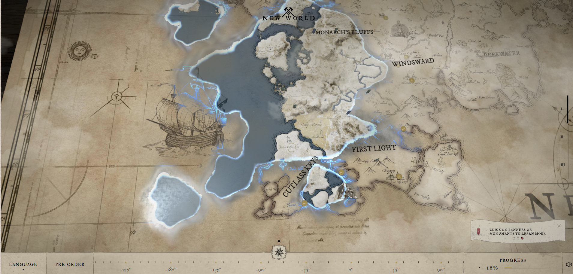 Explore Aeternum, the Setting of Amazon's New World In Your Browser