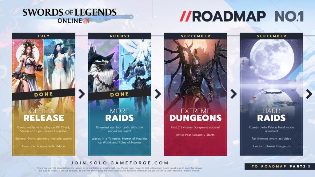 Swords Of Legends Online Release Roadmap Going Into 2022 1