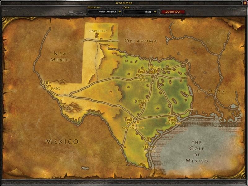 Fan Creates WoW Style U.S. State Maps 3