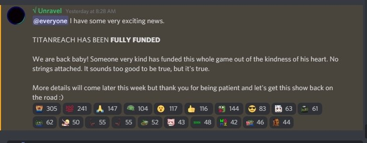 TitanReach Development is Back on Track After Being Fully Funded 1