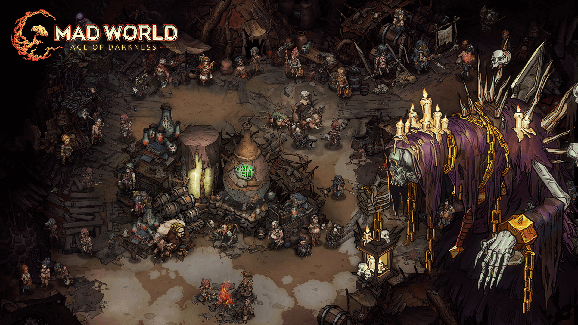 Mad World's Third Alpha Test Will Begin on October 25th