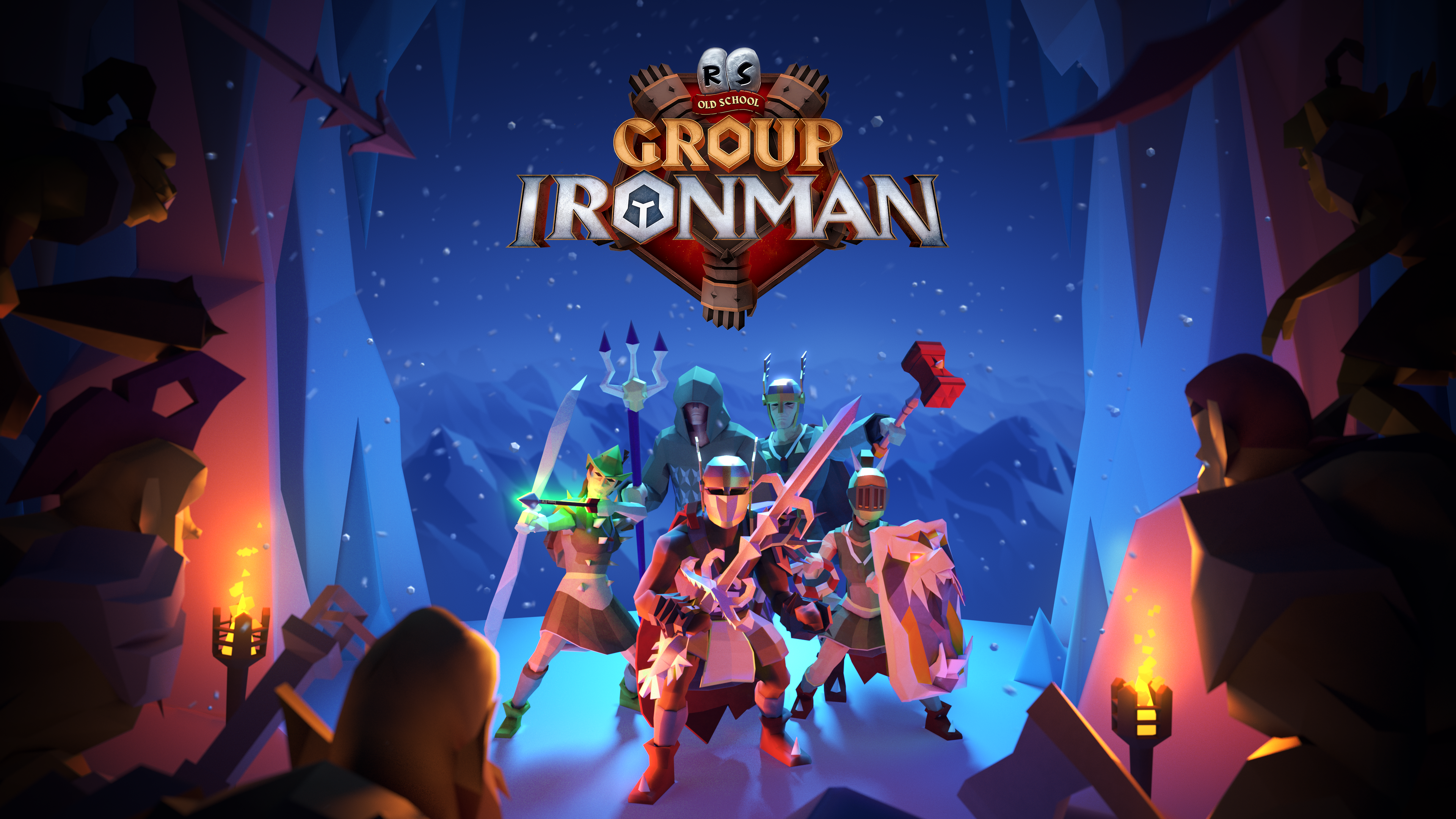 Group Ironman is Live in Old School Runescape
